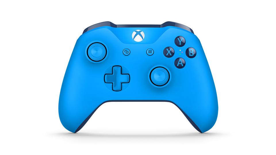 Xbox One S - Blue (Gen 3)(Wireless & Bluetooth) (Warranty 3 Month)