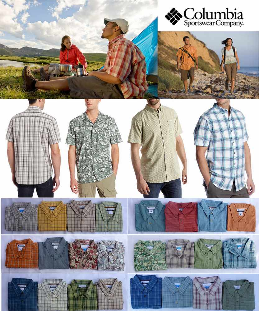 Columbia Short Sleeve Shirts