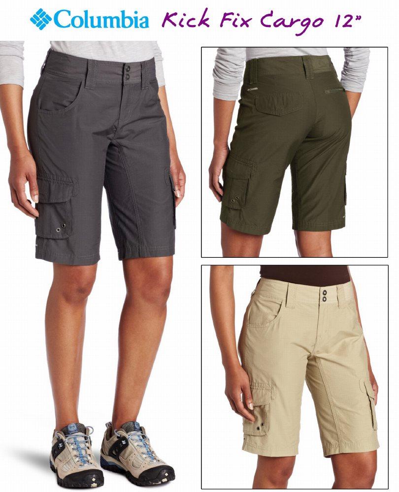 "Columbia Women's Kick Fix Cargo Short 12"""