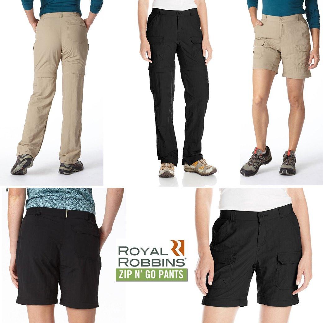 Royal Robbins Women's Classic Zip N Go Pants