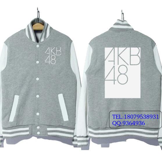 Hood เบสบอล AKB48 Gray