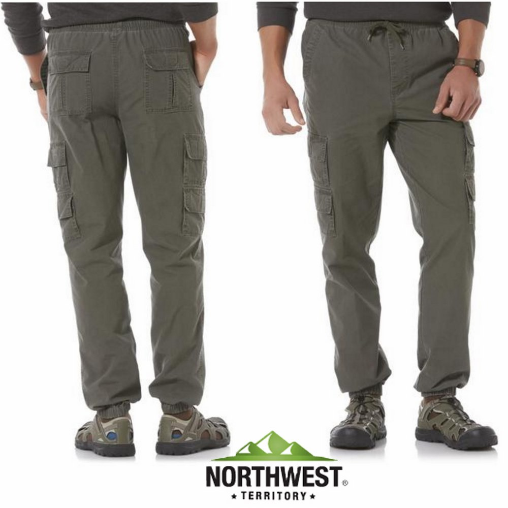 Northwest Territory Men's Cargo Jogger Pants
