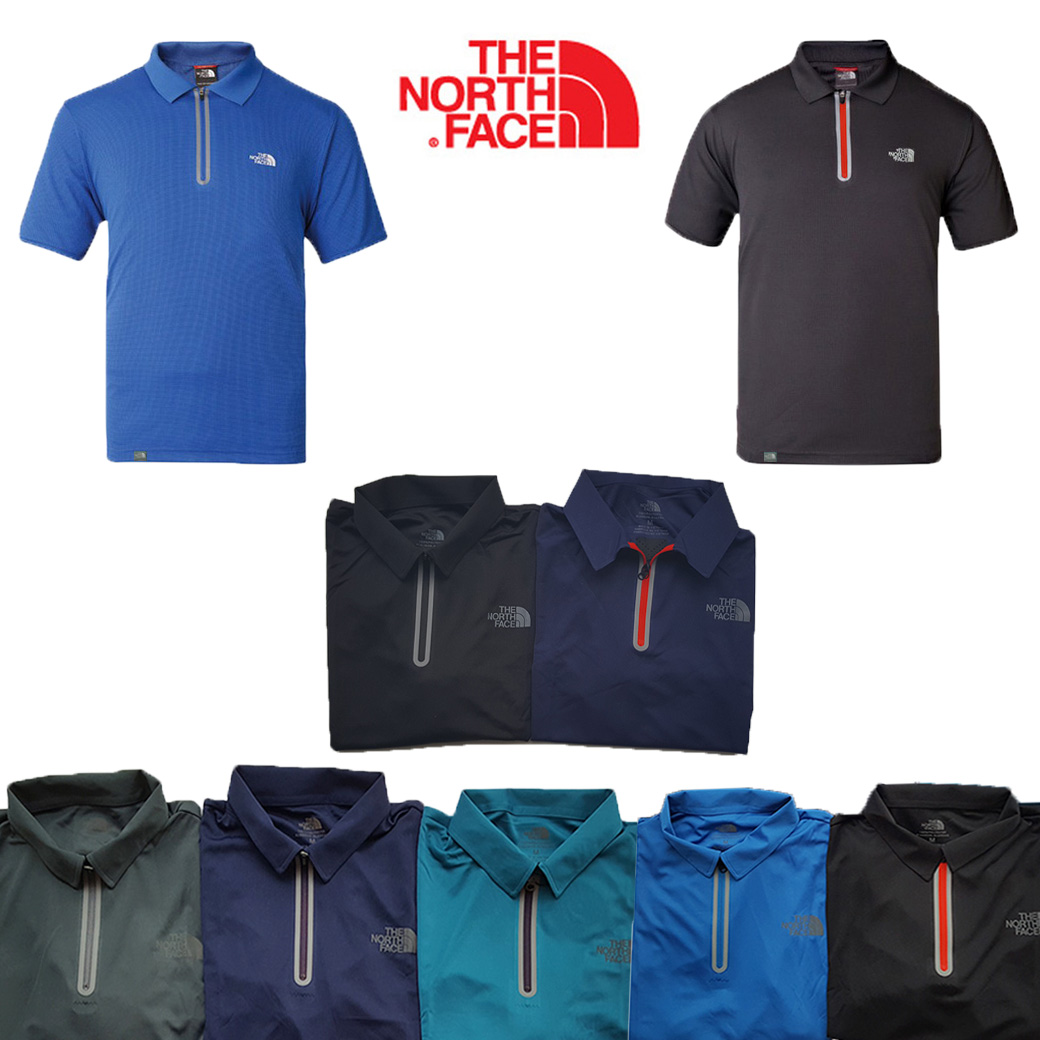 The North face Flash Dry 1/4 Zip Polo