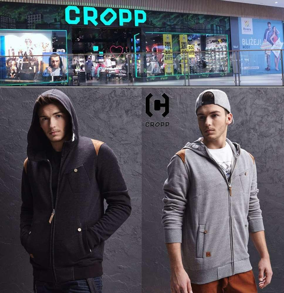 CROPP HOODE JOGGING TOP JACKET