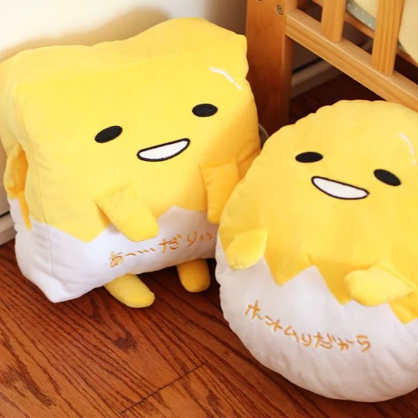 Preorder ชุดหมอนผ้าห่ม ไข่ขี้เกียจ gudetama ญี่ปุ่น 2 แบบ