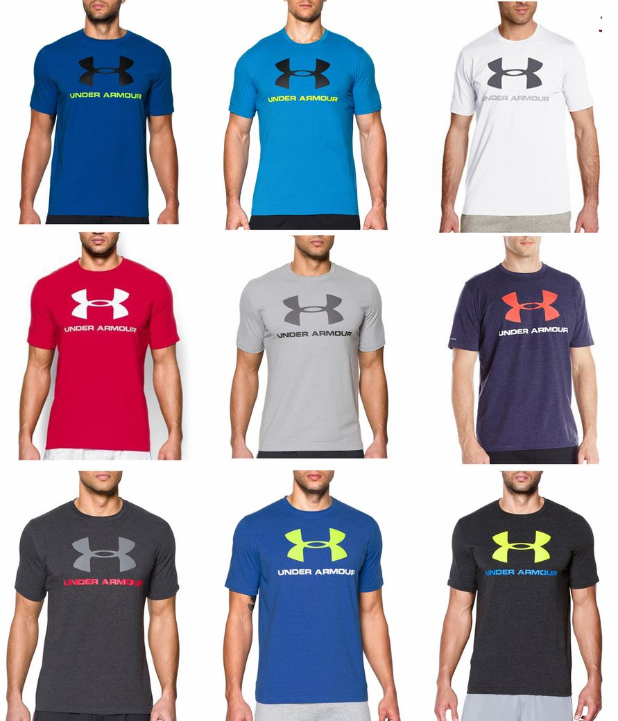 Under Armour Sportstyle Logo Graphic T-Shirt ( มีสีมาเพิ่ม 24/01/59 )