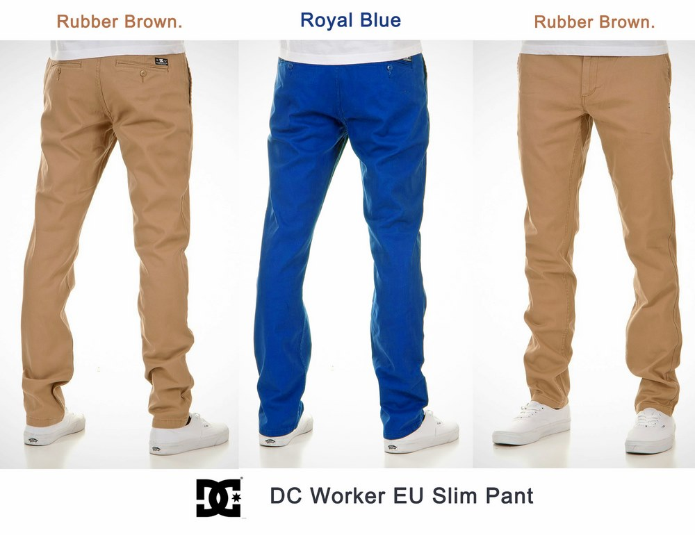 DC EU Slim Worker Pant ( เนื้อผ้ายืดหยุ่นได้ )