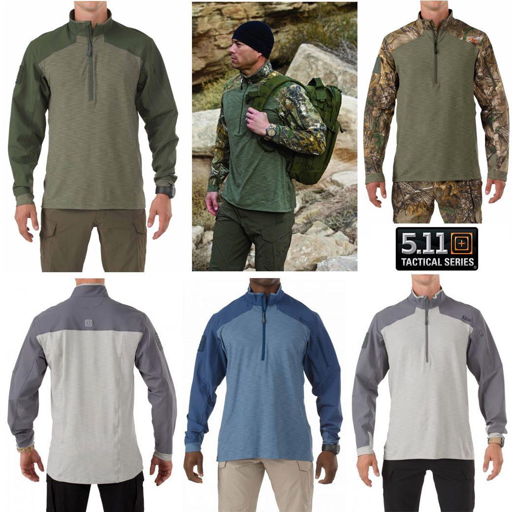 5.11 Rapid Response Quarter Zip Shirt