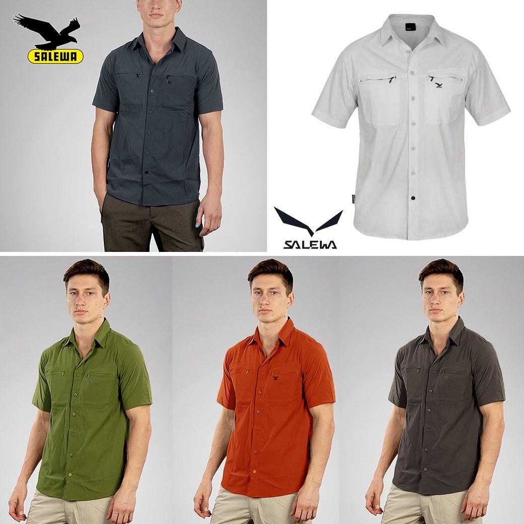SALEWA Tamar Dry Shorts Sleeve Shirt
