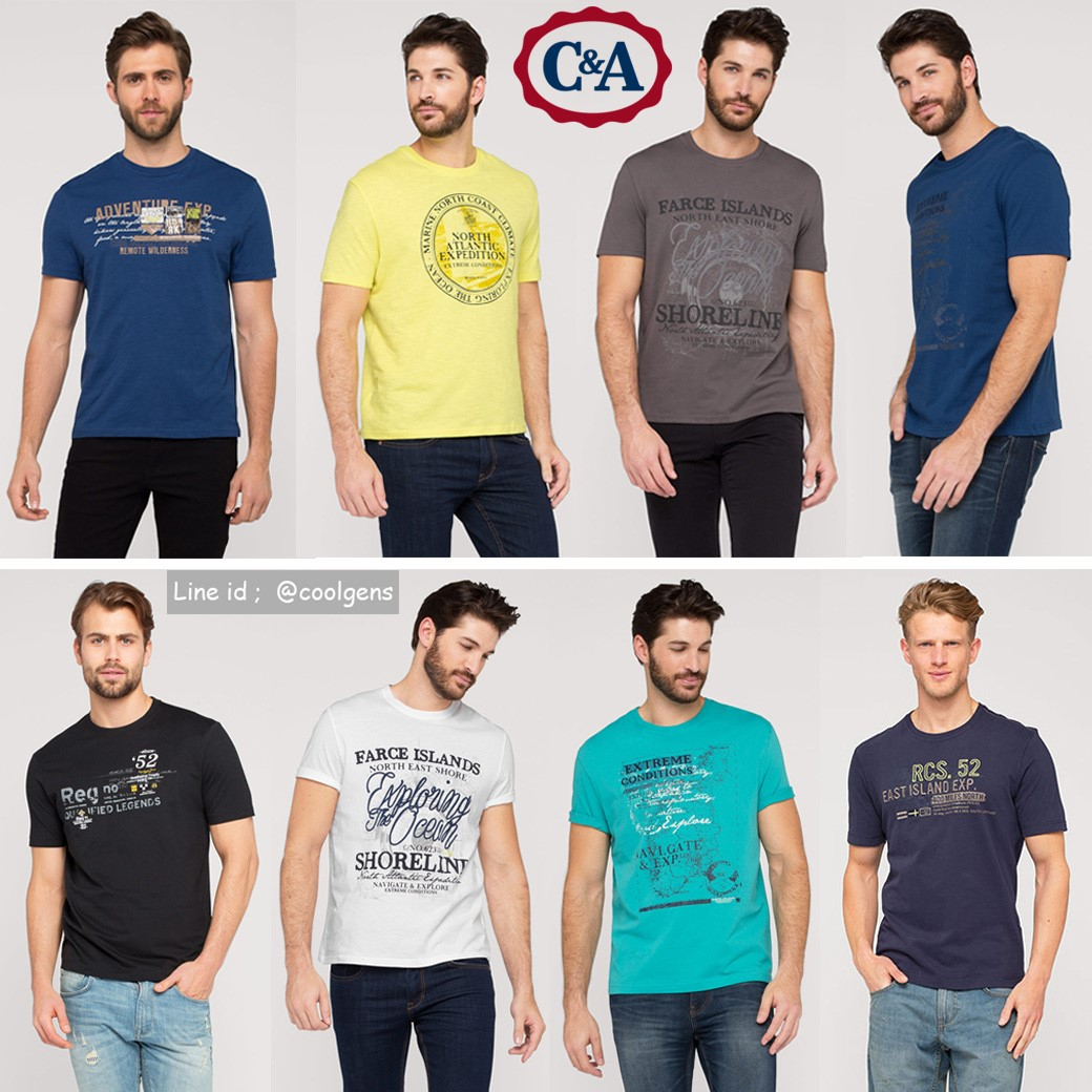 C&A Bio cotton - Herren T-Shirt