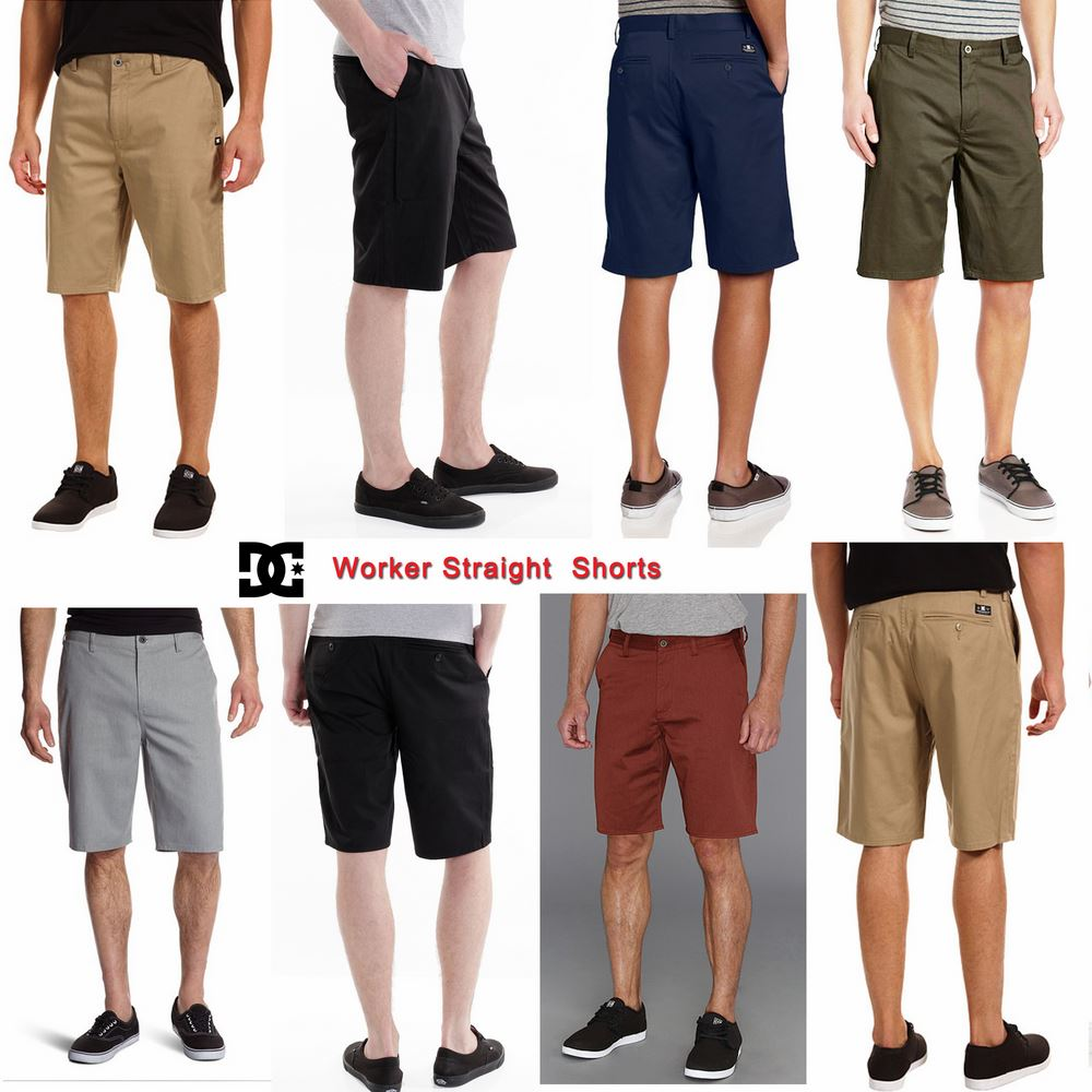 DC Worker Straight Chino Shorts