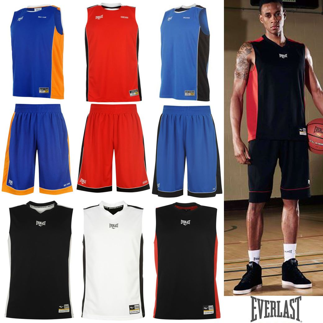 EVERLAST JERSEY & SHORTS