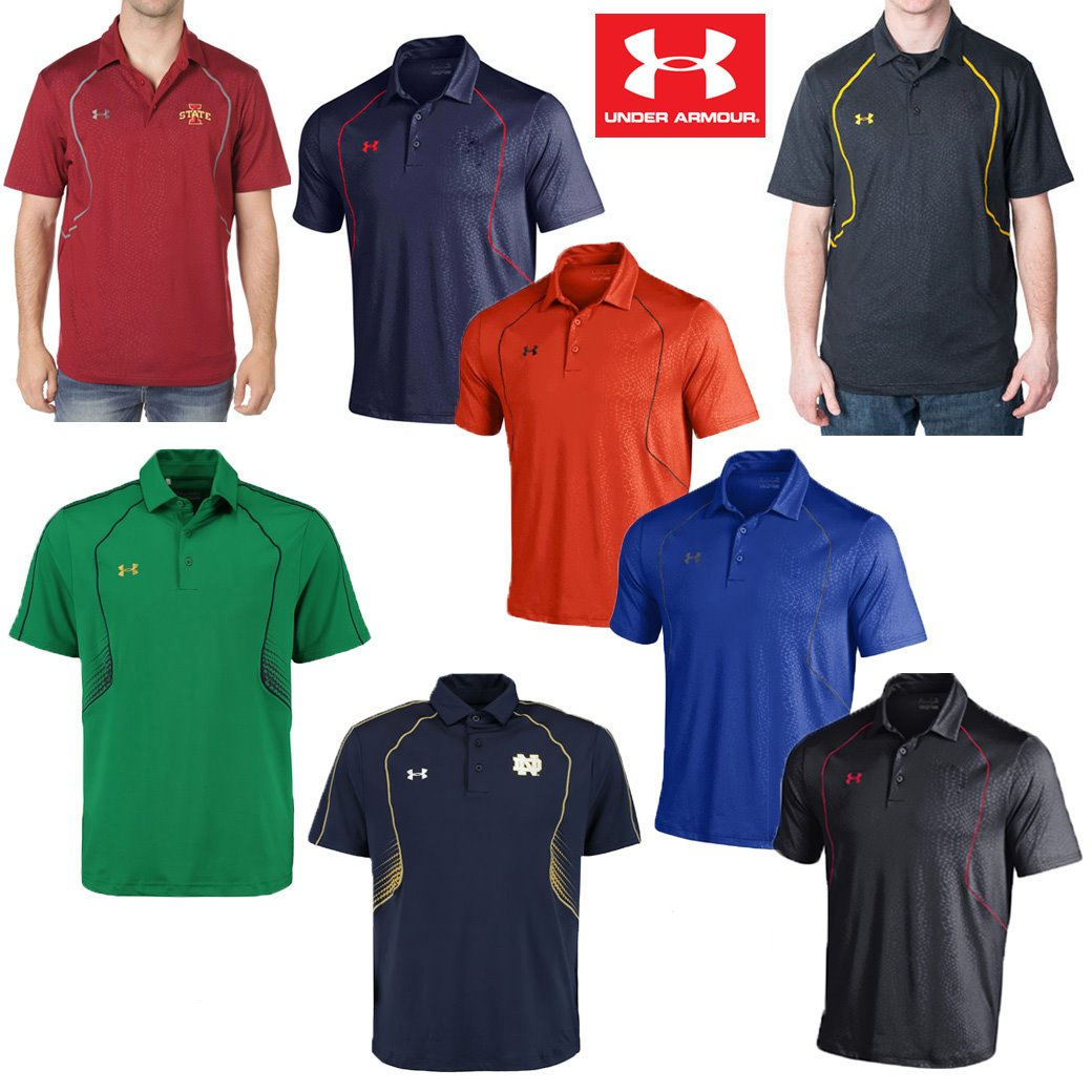 Under Armour Apex Printed Polo