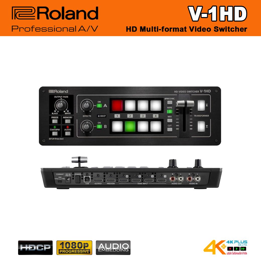 Roland V-1HD Portable 4 x HDMI HD Switcher
