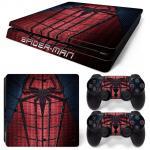 Sticker PS4 Slim - Spider Man 3