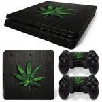 Sticker PS4 Slim - Marijuana