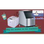 จุดคุ้มทุนคุณอยู่ไหน เปรียบเทียบความแตกต่าง ความคุ้มค่า! เครื่องทำน้ำแข็งยี่ห้อ SNG. VS Ice Machine