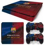 Sticker PS4 Slim - Bacelona 1