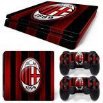 Sticker PS4 Slim - AC Milan 1