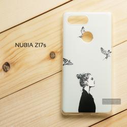 เคส Nubia Z17s เคสนิ่ม TPU พิมพ์ลาย แบบที่ 6