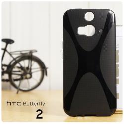 เคสยาง TPU HTC Butterfly 2