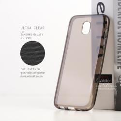 เคส Samsung Galaxy J5 Pro เคสนิ่ม ULTRA CLEAR พร้อมจุดขนาดเล็กป้องกันเคสติดกับตัวเครื่อง สีดำใส