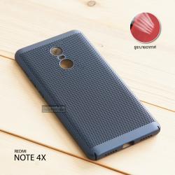 เคส Xiaomi Redmi Note 4X เคสแข็งสีเรียบ (รูระบายอากาศที่เคส) สีกรมท่า