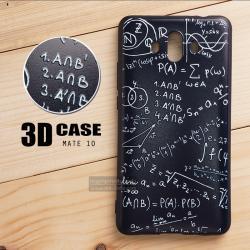 เคส Huawei Mate 10 เคสนิ่ม TPU พิมพ์ลาย 3D (ขอบดำ) แบบที่ 1