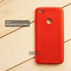 เคส Xiaomi Redmi Note 5A Prime เคสนิ่ม TPU สีเรียบ สีแดง