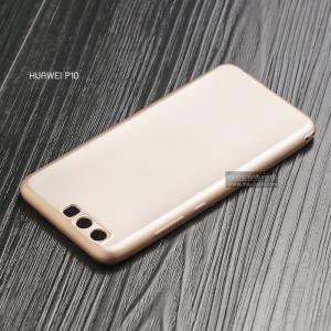 เคส Huawei P10 เคสนิ่ม TPU สีเรียบ สีทอง