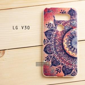 เคส LG V30 เคสนิ่ม TPU พิมพ์ลายแบบที่ 1