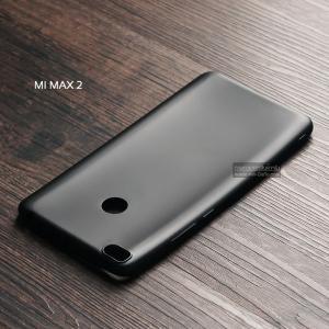 เคส Xiaomi Mi Max 2 เคสนิ่ม TPU สีเรียบ สีดำ