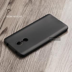 เคส Xiaomi Redmi Note 4X เคสนิ่ม TPU สีเรียบ สีดำ