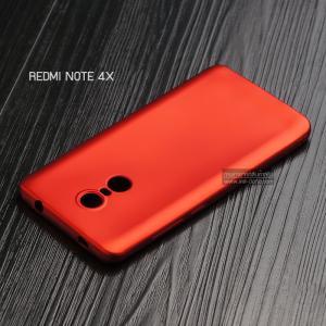 เคส Xiaomi Redmi Note 4X เคสนิ่ม TPU สีเรียบ สีแดง