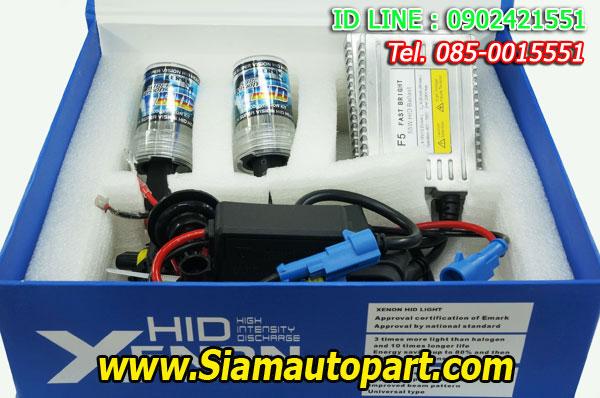 ไฟxenon kit 55W ขั้ว H11 Ballast F5 Fast Bright