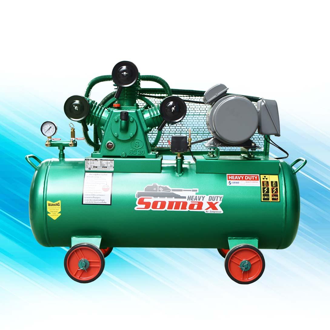ปั๊มลมโซแม๊กซ์ SOMAX 2 แรงม้า รุ่น SC-20/90 (220 V)