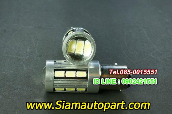 LED-1157-18SMD-หัวเลนส์-ไฟท้ายหรี่เบรคกระพริบ