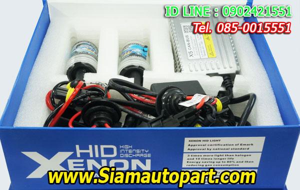 ไฟxenon kit 55W ขั้ว H11 Ballast X5 Canbus Fast Bright
