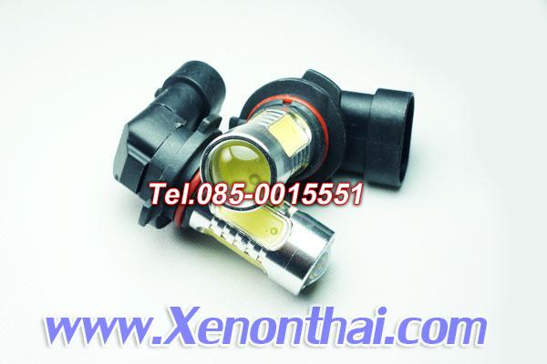 LED ขั้ว HB4/9006 7.5W หัวเลนส์แสงสีขาว
