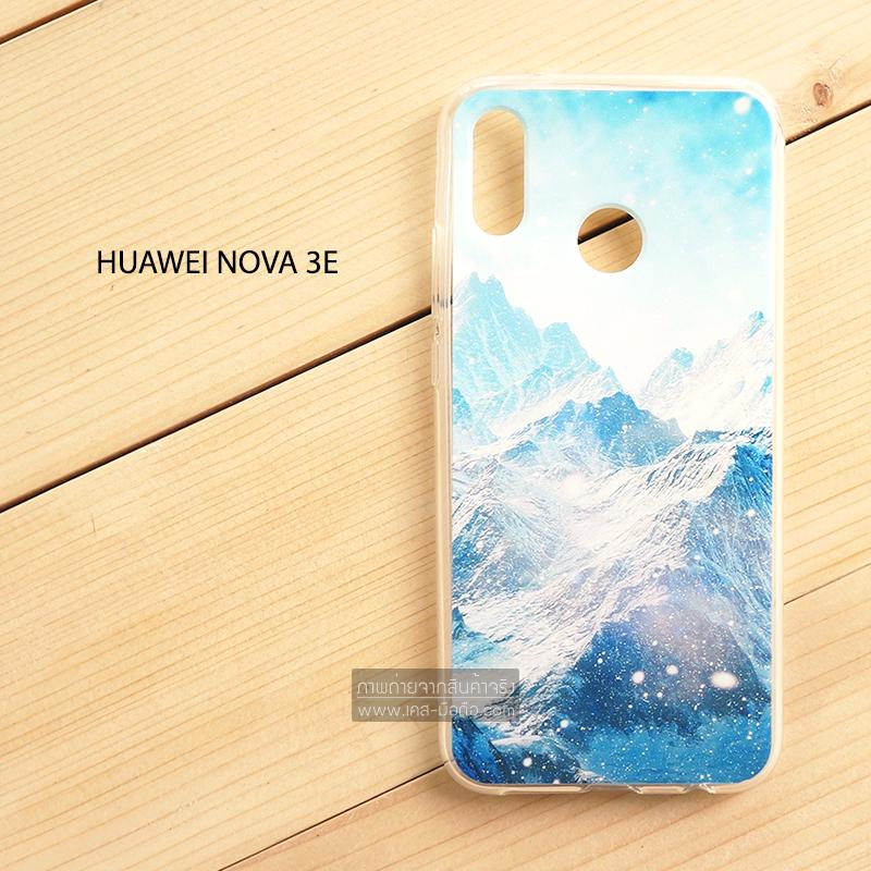 เคส Huawei Nova 3E เคสนิ่ม TPU พิมพ์ลาย แบบที่ 5