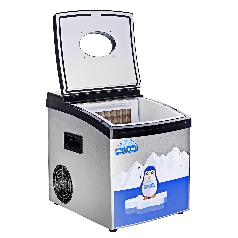 เครื่องทำน้ำแข็งขนาดเล็ก 10-15 กิโลกรัม