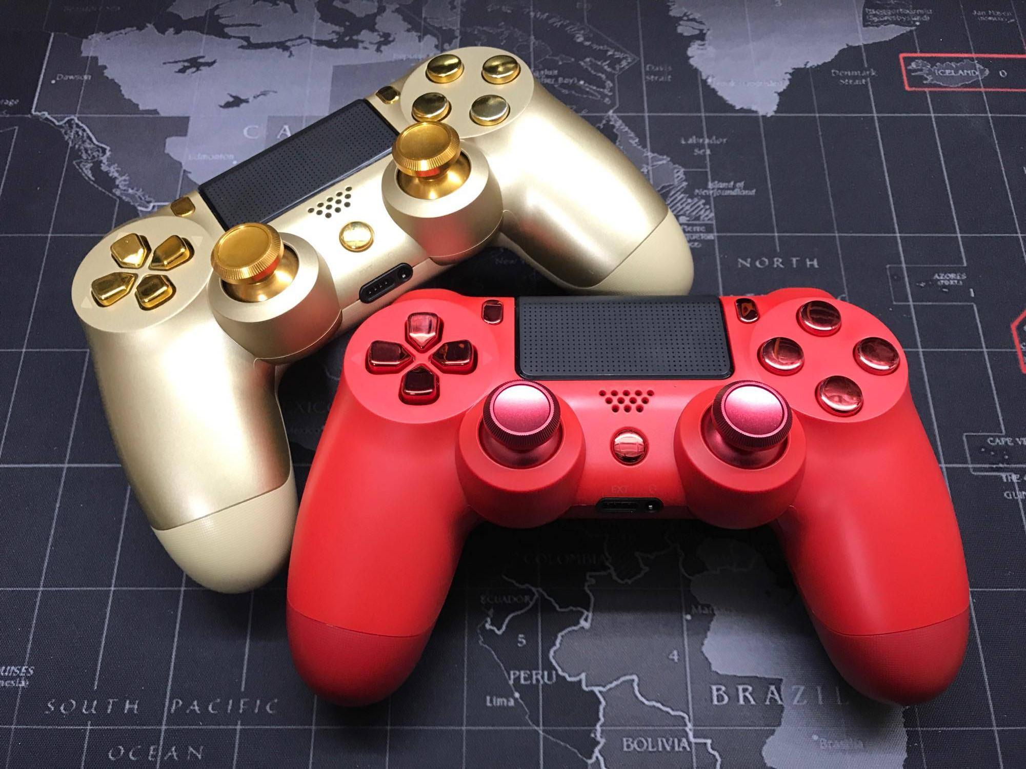 ชุดปุ่มแต่ง PS4