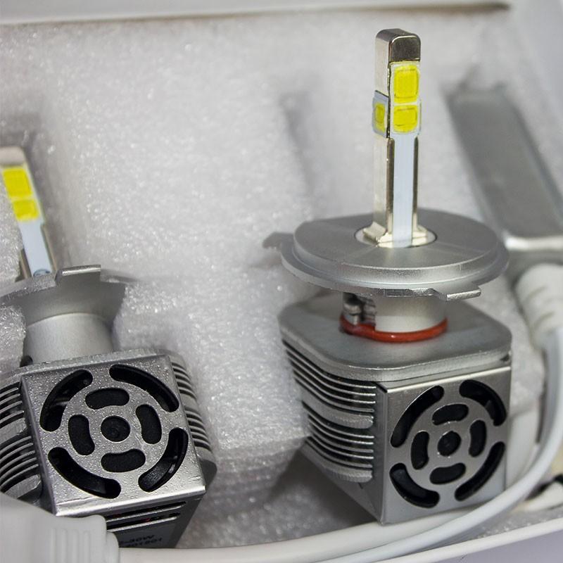 ไฟหน้าLED H4-3200LM ชิป BRIDEGLUX ให้แสงรอบตัว
