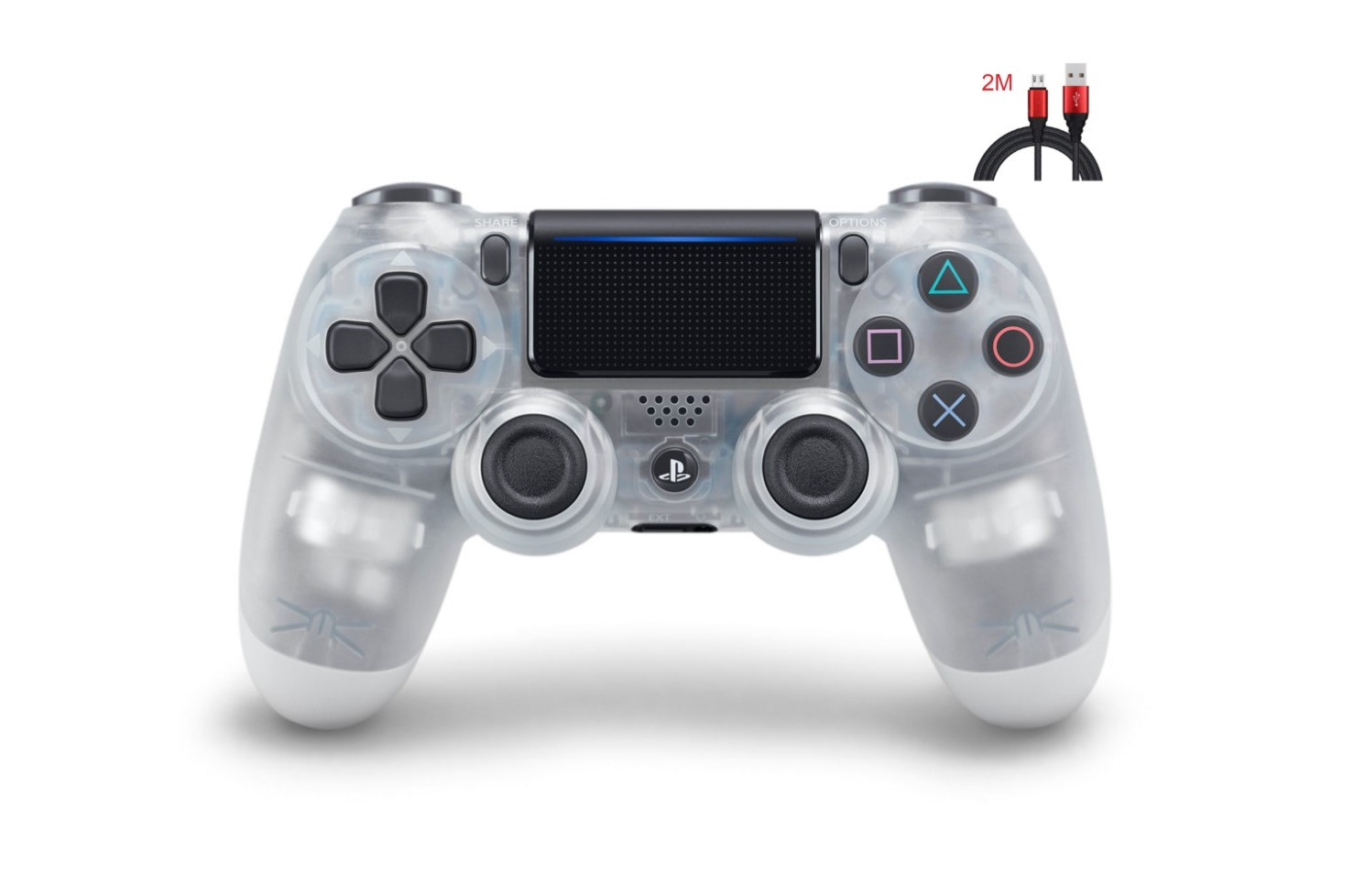 New PS4 Controller : Dual Shock 4 Crystal