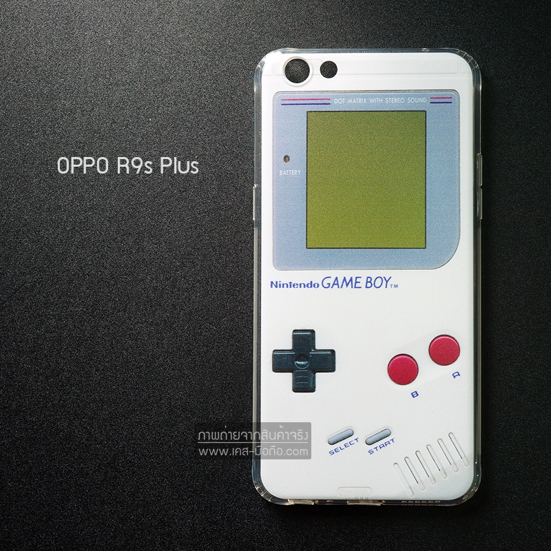 เคส OPPO R9s Plus เคสนิ่ม TPU พิมพ์ลาย แบบที่ 2 Game Boy