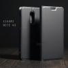 เคส Xiaomi Redmi NOTE 4X เคสฝาพับเกรดพรีเมี่ยม (เย็บขอบ) พับเป็นขาตั้งได้ สีเทา