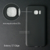 เคส Samsung Galaxy S7 Edge เคสนิ่ม TPU (ผิวด้าน) สีเรียบ (ครอบคลุมส่วนกล้องยิ่งขึ้น) สีดำ