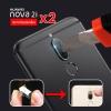 (แพ็ค 2 ชิ้น) กระจกนิรภัยกันเลนส์กล้อง Huawei Nova 2i
