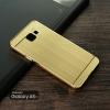 เคส Samsung Galaxy A5 (2016) เคสฝาหลัง + Bumper (แบบเงา) ขอบกันกระแทก สีทอง (แบบ Luxury)