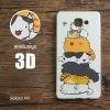 เคส Samsung Galaxy A9 / A9 Pro เคสนิ่ม TPU พิมพ์ลาย 3D แบบที่ 1